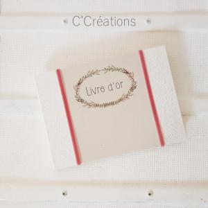 Livre d'or mariage { Leaf } couronne de feuilles bohème